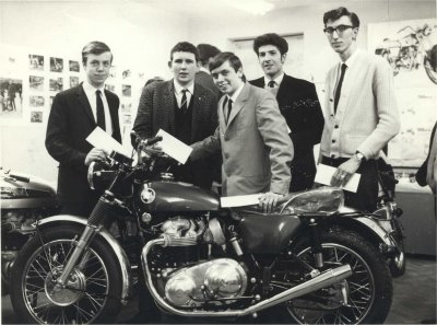 Apprentices with bike pic