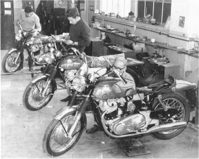 Rectifiers working on Commando bikes pic