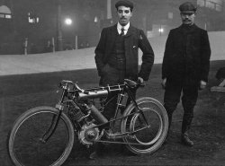 Charlie and Harry Collier in 1904 pic