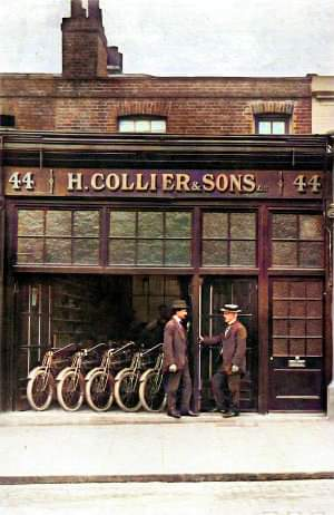 Shopfront of H Collier and Sons pic