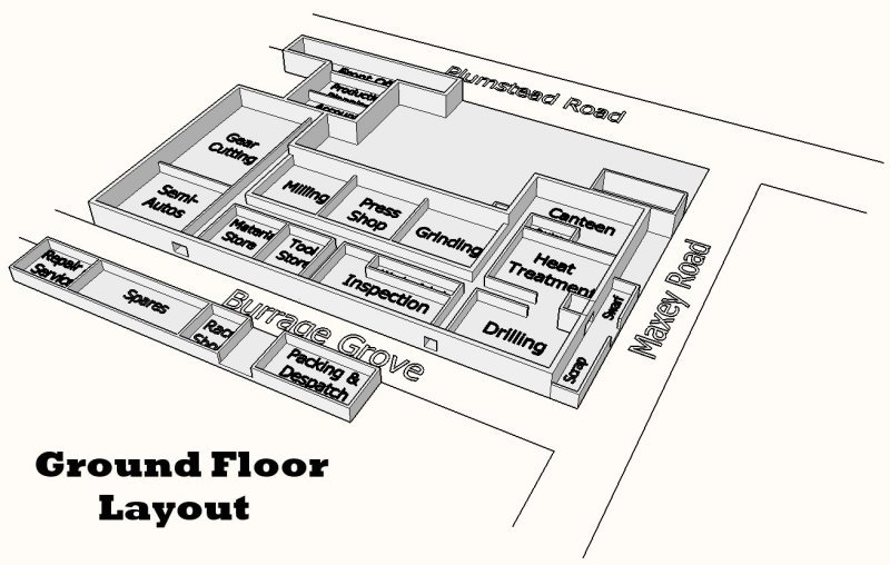 Ground Floor department plan