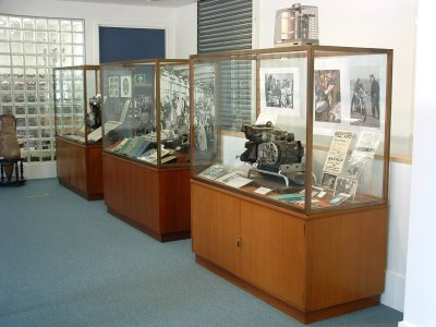 Exhibition cabinets pic