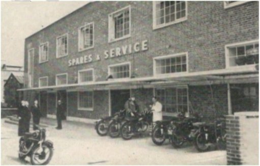 Spares and Service Building